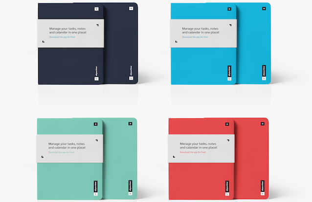 It's here! Please welcome our brand new [allyourtime] Notebook collection.